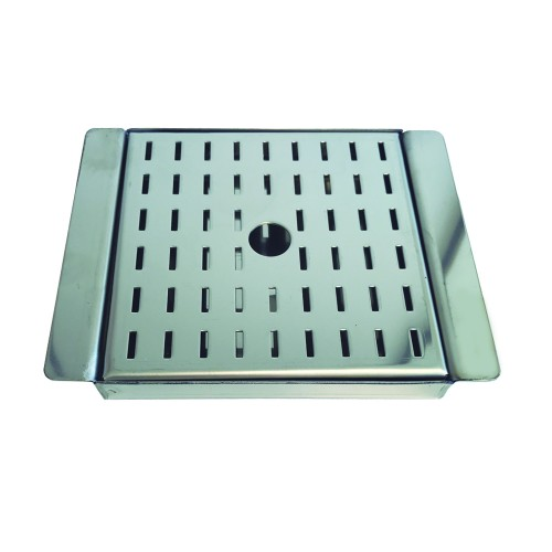Tray and grating for glasses Juicer