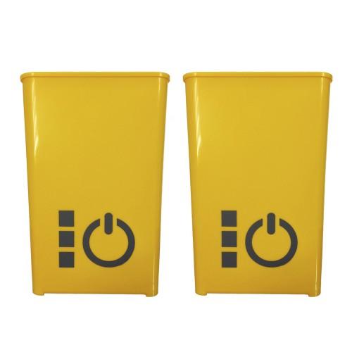 Plastic cubes Juicer