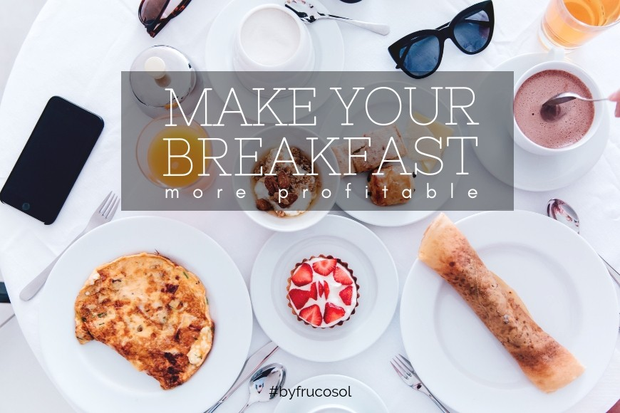 Generate traffic in your establishment offering a good breakfast.