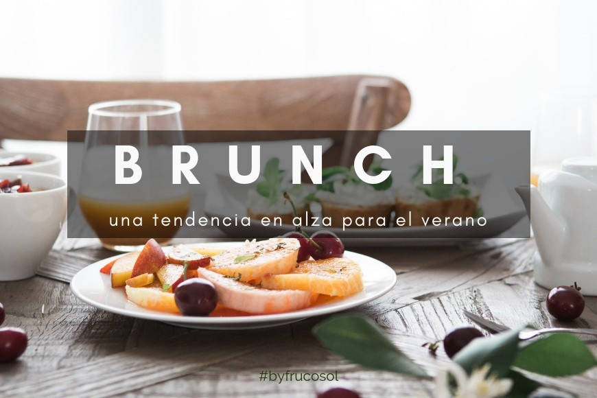 Brunch a rising trend for summer.