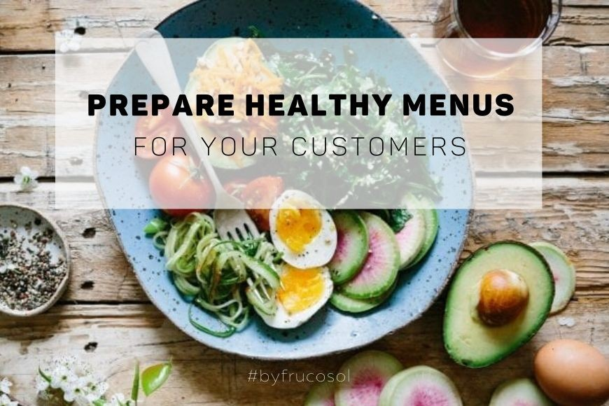 Prepare healthy menus for your customers at the beginning of the year.