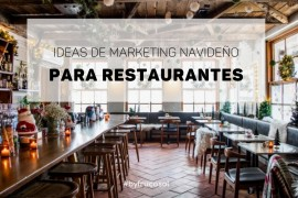 Ideas de marketing navideño para restaurantes